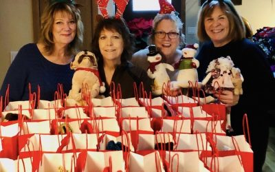 """Angels"" bring heavenly joy to six assisted living facilities at the holidays"