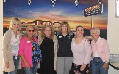 Seniors Visited by 'Silver Angelic' Cruisers