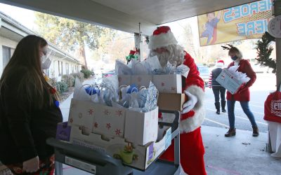 Bringing Christmas Cheer to Residents, Caregivers and Staff at 2 Rehabilitation Facilities
